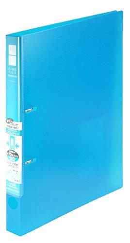 コクヨ ファイル リングファイル スリムスタイルPPシート表紙 A4 220枚 青 フ-URFC430LB