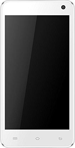 Mobistel Cynus F6 Smartphone (12,7 cm (5 Zoll) IPS Display, 1,3GHz, Quad-Octa-Core-Prozessor, 8 Megapixel Kamera, Dual-SIM, WiFi, 4GB interner Speicher, Android KitKat 4.4) weiß