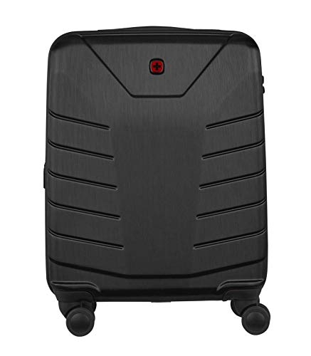 Wenger 610118 PEGASUS 39 Litre Luggage Carry On, Strong polycarbonate shell with Travel Sentry Approved combination lock in Black