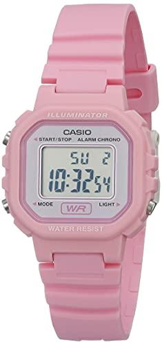 Casio Women's Classic Quartz Watch with Resin Strap, Pink, 9 (Model: LA20WH-4A1)