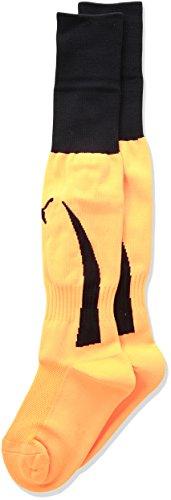 Puma Men's Power 5 Socks, Fluorescent Orange/Black, 7-12 (Adult)