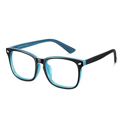 Cyxus Gafas de Filtro de Luz Azul Lentes Antireflejantes [Anti Tensión de Ojos] Gafa de Computadora para Mujer y Hombres (Lentes...