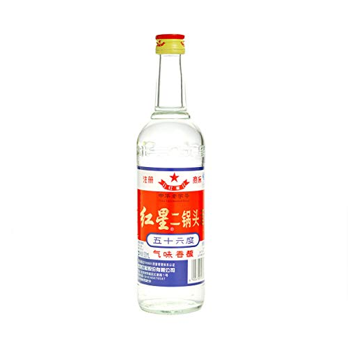 Er Guo Tou Jiu 500ml 56% vol. China Original Schnaps aus Hirse