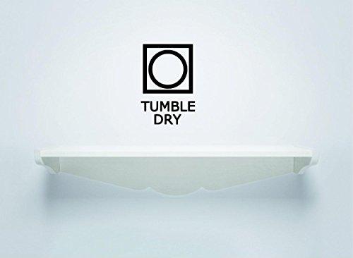 Adhesivo decorativo para pared, en venta ahora: letrero para lavandería, limpieza de limpieza, decoración del hogar, tamaño de 25,8 x 50,8 cm.