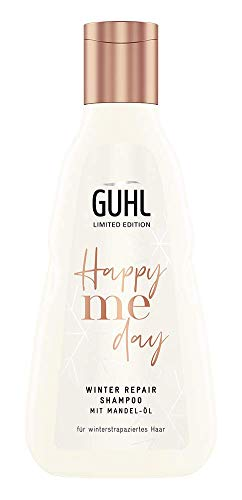 Guhl Happy Me Day Winter Repair - Shampoo - Mit Mandel-Öl - Für winterstrapaziertes Haar, 250 ml