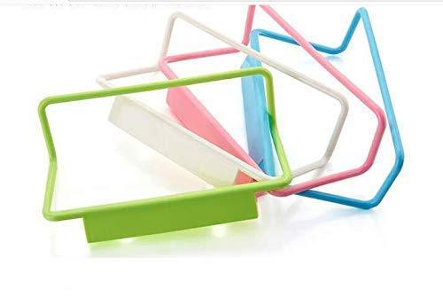 Haushaltsgeräte Küchengeräte Schranktür Zurück Einzelhandtuchhalter Kunststoff Nicht markierender Lappenhalter Handtuchhalter Multi
