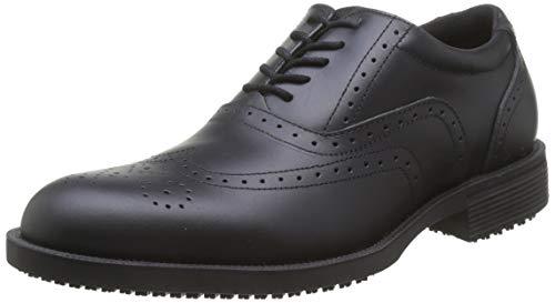 Shoes for CrewsExecutive Wingtip II - Ce Cert - Scarpe antinfortunistiche uomo, Nero (Black), 44 EU (9.5 UK)