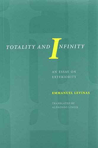 Compare Textbook Prices for Totality and Infinity: An Essay on Exteriority Philosophical Series 13262nd Edition ISBN 8601400607138 by Emmanuel Levinas,Alphonso Lingis