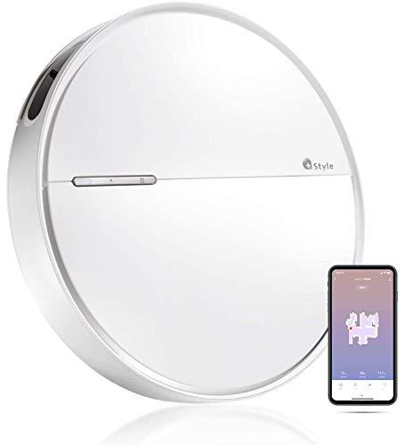 【+Style ORIGINAL】スマートロボット掃除機 B300 Wi-Fi接続 水拭き 薄型 6.2cm フローリング カーペット 対応 小型 日本メーカー製 Amazon Alexa/Google Home 対応の写真