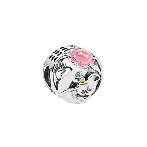 Bracciali braccialetto Gioielli,Lovely Ananas Starfish Owl Bead Charms Original Silver Plated Beads Fit Charms Bracelet & Bangles Women DIY Jewelry Dumbo