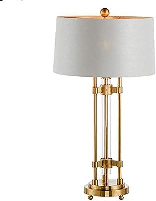 CZWYF Lámpara de mesa Hogar Decorativo Acabado en oro Base de ...