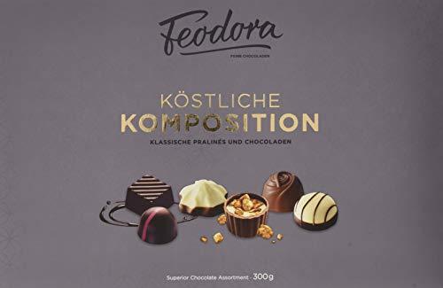 Feodora Köstliche Komposition: Klassische Pralinés & Chocoladen, 300 g