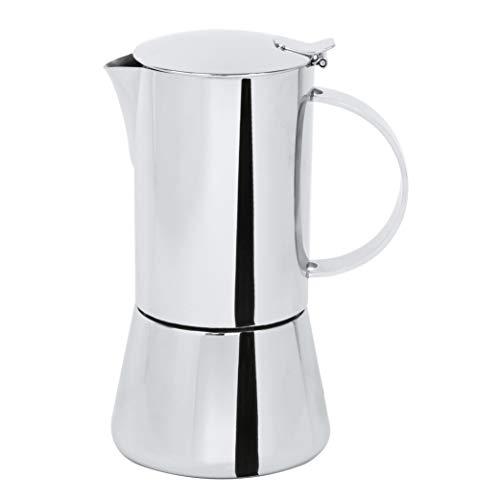 Cristel C10TCB Capri-10 Tassen Espressokocher Capri, Edelstahl