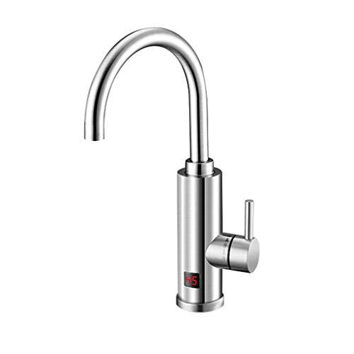Calentador agua eléctrico - Grifo agua caliente eléctrico Calefacción agua caliente instantánea...