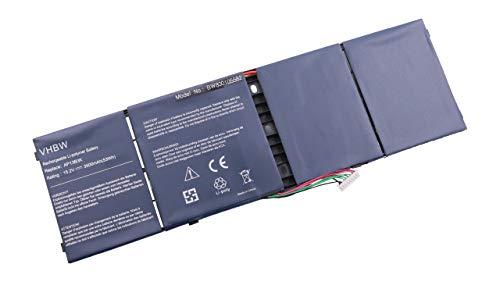 vhbw Batterie 3500mAh (15.2V) pour Notebook Acer Aspire R7 R7-571 R7-571G-73538G75ass comme 41CP6/60/78, AL13B3K, AP13B3K, KT.00403.013, TIS 2217-2548