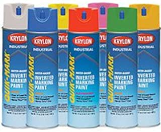 Krylon Quik-Mark Paint in White - Pack of 12