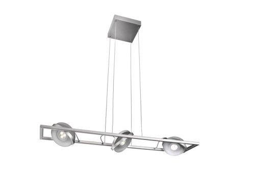 Massive 53159/48/10 Vision Lampe à suspension avec éclairage en LED 3 x 7,5 Watt SEL