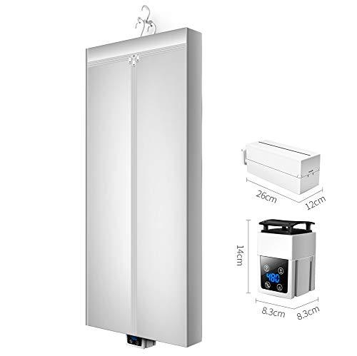 Dryer-EJOYDUTY Tragbare Wäscheleine, Energiesparender Wäschetrockner 4.3ft, Digitaler Automatik-Timer, für Apartment House
