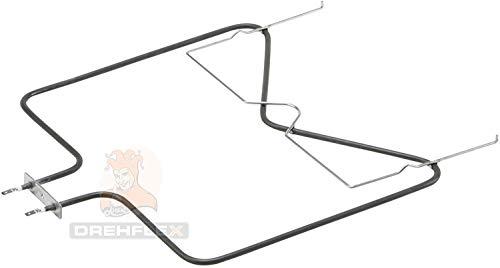 DREHFLEX - Unterhitze/Heizung/Heizelement - passend für diverse Bauknecht Ignis Philips Whirlpool Ikea Herde/Backofen - passend für Teile-Nr. 481010375734 / /1150 Watt