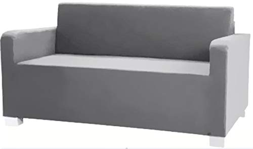 The Solsta Sofa Bed Slipcover Replacement is Custom Made Compatible for IKEA Solsta Cover Only. A Solsta Sofa Bed Slipcover Replacement (Dense Cotton Gray)