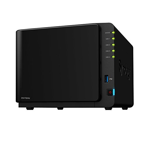 Synology DiskStation DS416play Collegamento ethernet LAN Scrivania Nero NAS