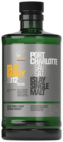 Port Charlotte ISLAY BARLEY Heavily Peated Islay Single Malt 2012 Whisky (1 x 0.7 l)