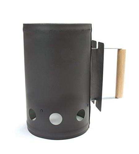 Charcoal Companion Cheminée d'allumage CC4041-noir, Noir, 17,4x17,91x28,91 cm