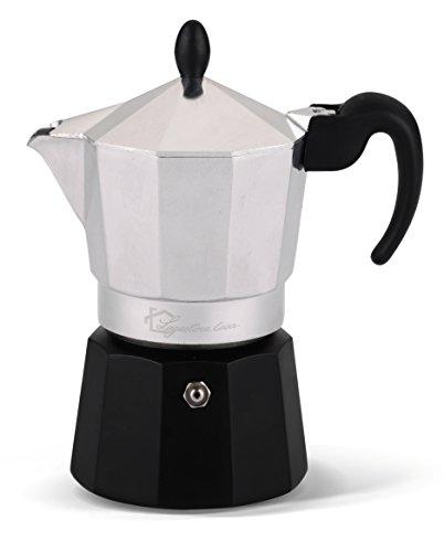 Lagostina Samba Nera Espressokanne aus Aluminium 3 tazze Aluminium