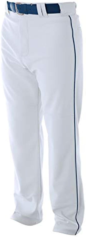 N6162 A4 PRO BAGGY CUT BB PANTS WHITE  NAVY M