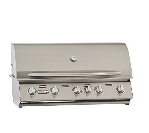 BULLET 87428 5-Burner Built (LP) Grill Head, Stainless Steel Grills Propane