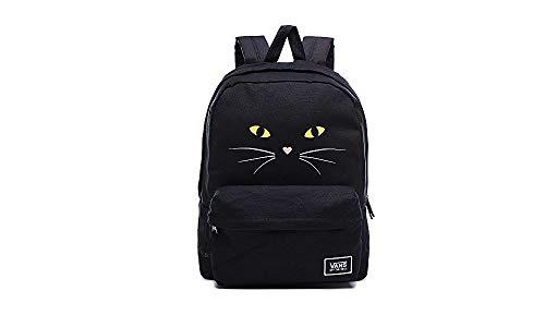 VANS Realm Classic VN0A3UI7P2I1 Black Cat Backpack