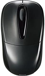 (まとめ) サンワサプライ 静音ワイヤレスマウス 2ボタン ブラック MA-WH123BK 1個 〔×2セット〕