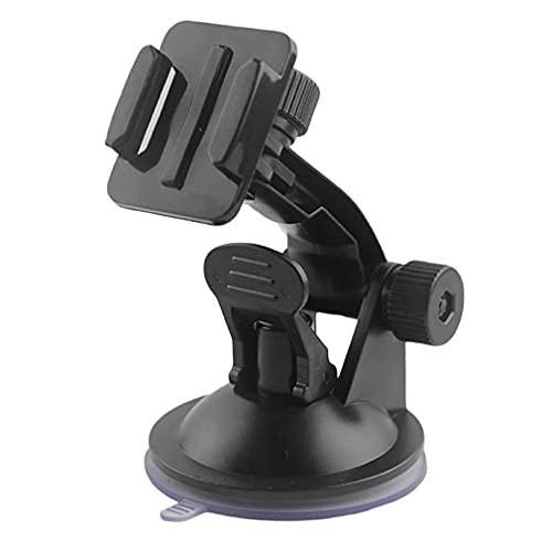 Haowen Supporto per Telecamera di Movimento 7 cm Supporto per Parabrezza per Montaggio su Auto Ventosa per Gopro Black