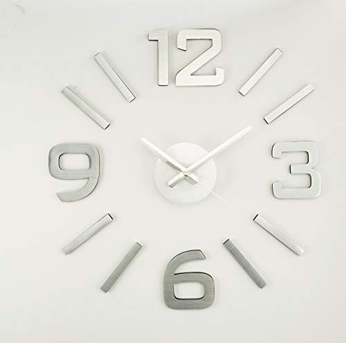 Dropex Adhesivo Relojes de Escritorio Decoración del hogar Unisex Adulto, Multicolor (Multicolor), única