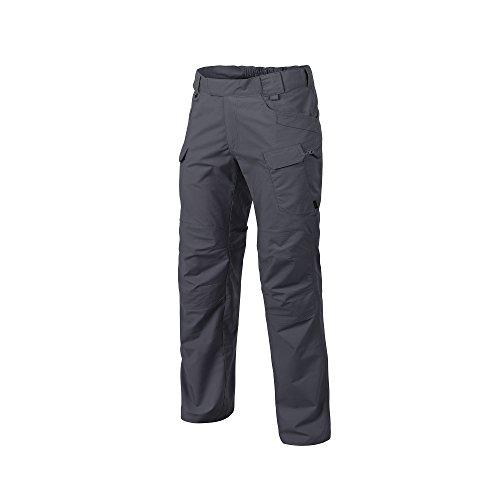 Helikon-Tex Pantalones tácticos urbanos UTP para hombre, estilo cargo militar, casual , 32W x 36L, Ripstop de polialgodón gris sombra