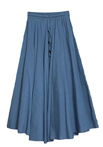 H&E - Falda - para Mujer Cowboy Blue 40