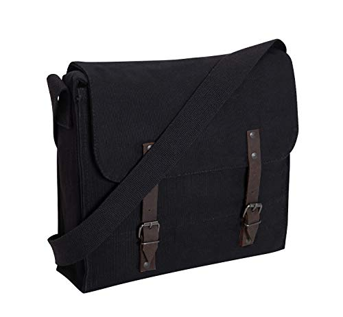 Rothco Canvas Medic Bag (One Size, Black)