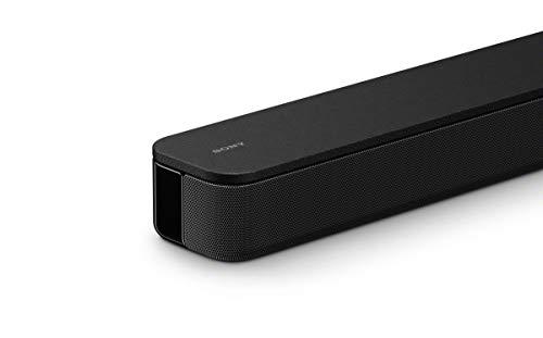 Sony HT-S350 2.1. Kanal Soundbar (incl. Subwoofer, Bluetooth, Front Surround Sound, S-Force PRO, Dolby Digital) schwarz & Amazon Basics - Geflochtenes HDMI-Kabel, 3 m
