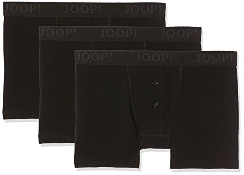 Joop! Herren 17 B-3-Pack-Boxer-L 10001475 Boxershorts, Schwarz (Black 001), Small