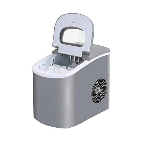 ZFFSC Máquina de Hielo Home Fabricante de Hielo máquina de Contador de Contador de 15kg Capacidad rápida Compacto de Hielo Cubo de Hielo con tamaño de Cubo No se Requiere plomería Máquin