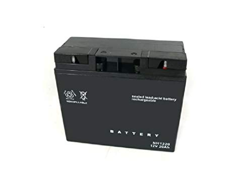 Batterie Gel Akku 12V 20 Ah für Alko Castel Garden Honda Viking Sabo Solo