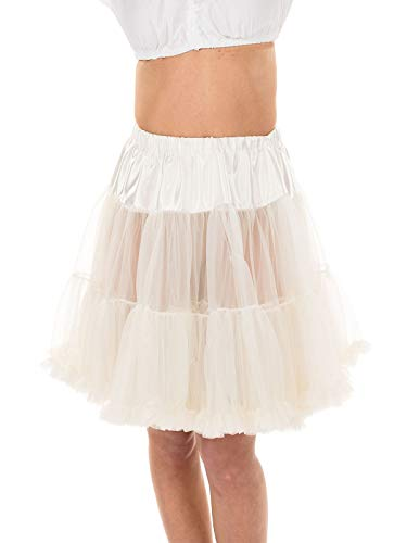 MarJo Trachten Petticoat 55cm Creme, S