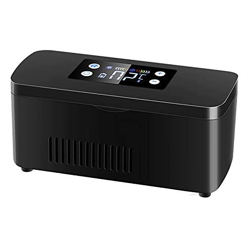 WDAA Mini Medicine Refrigerator Insulin Refrigerated Box for Travel LCD Display USB Portable Insulin Cooler for Car