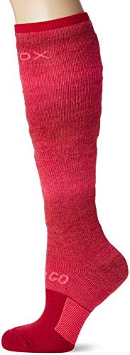 Ortovox Damen Ski Stay or Go Socken, Hot Coral, 39-41 (M)