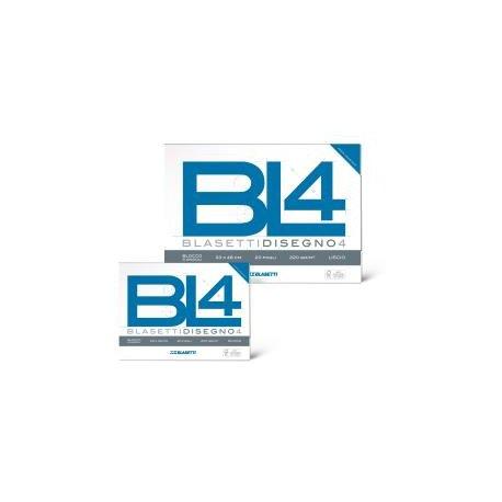 Blasetti BL4 Liscio 20fogli carta da disegno