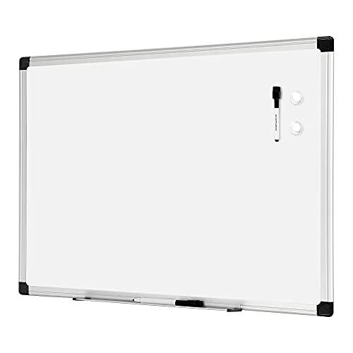 Amazon Basics Magnetic Dry Erase White Board, 36 x 24-Inch Whiteboard - Silver Aluminum Frame