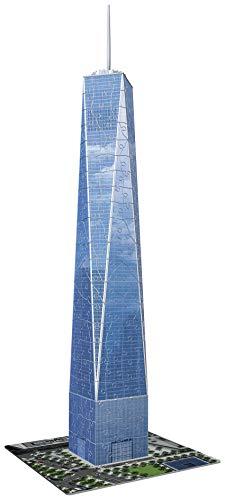 Ravensburger 12562 - One World Trade Center - 3D Puzzle-Bauwerke, 216 Teile