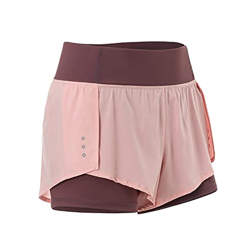 Tofox Mujer Pantalones Cortos de Control de Barriga Shorts Pantalones de Yoga para Mujer para Correr para Correr Gimnasio Gym