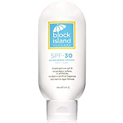 Block Island Vegan sunscreen