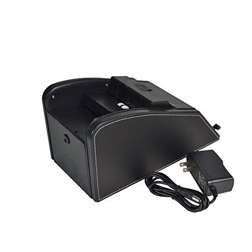 WAHHW professionele kaart Shuffler, batterij of plug bediende elektrische Shuffler automatische kaart Shuffler 2 in 1 Shuffle Deal Machine batterij bediend